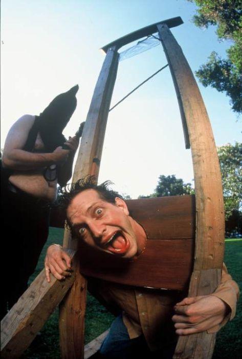 Способы казни столетней давности (15 фото)
