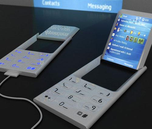 Концепты телефонов будущего (37 фото)