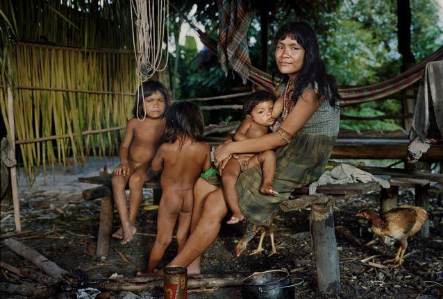 Пираха - одно из самых счастливых диких племен нашей планеты (14 фото)