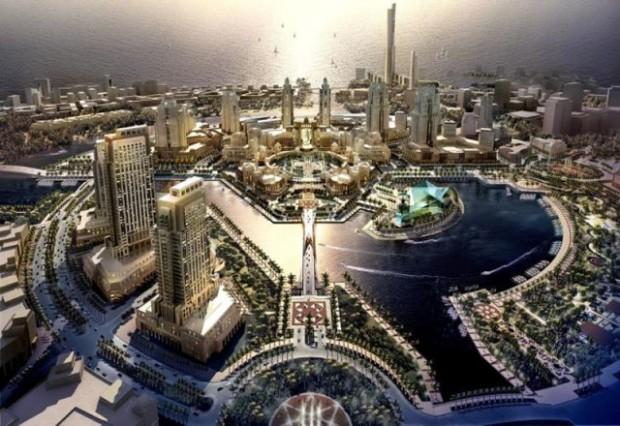 Города будущего: 10 изумительных проектов (10 фото)