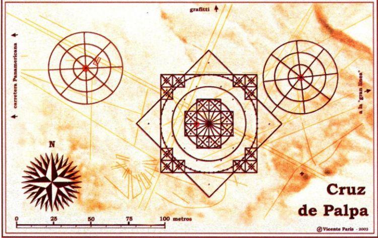 Гигантские древние геоглифы долины Пальпа — «сестры» Наска