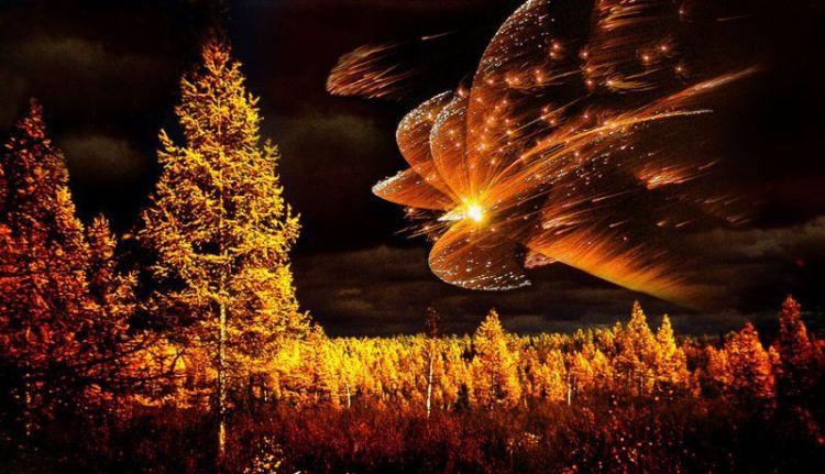 Природное явление, метеорит или инопланетный корабль?