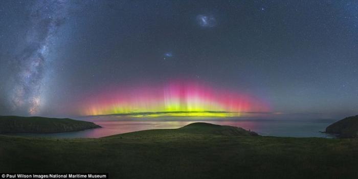 """""""Небесный огонь"""". Пол Уилсон, США. астрономия, конкурс, космос, красиво, лучшее, планеты, фото, фотографы"""