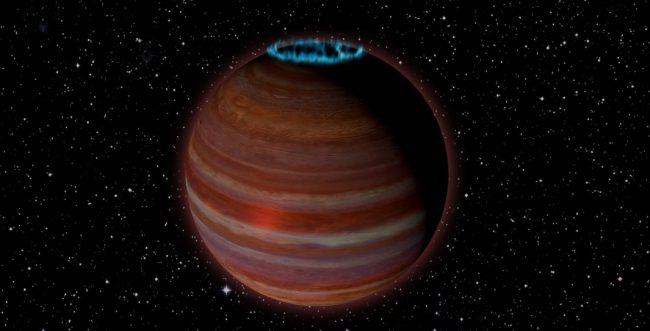 Ученые обнаружили гигантскую блуждающую планету с мощным магнитным полем