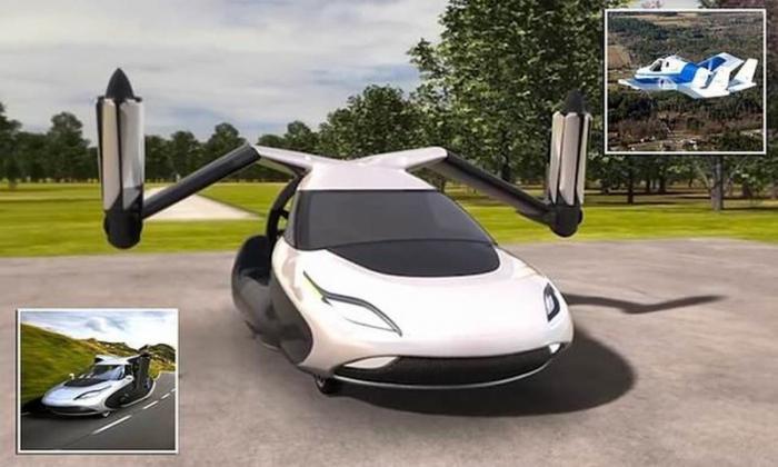 Летающие автомобили в 2019 году: первые серийные концепты - КалендарьГода в 2019 году