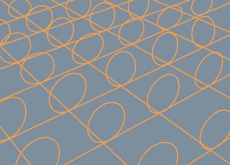 Круги представляют собой дополнительный пространственный размер, свернутый в каждую точку нашего знакомого трехмерного пространства