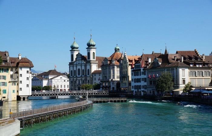 5. В Швейцарии все чисто