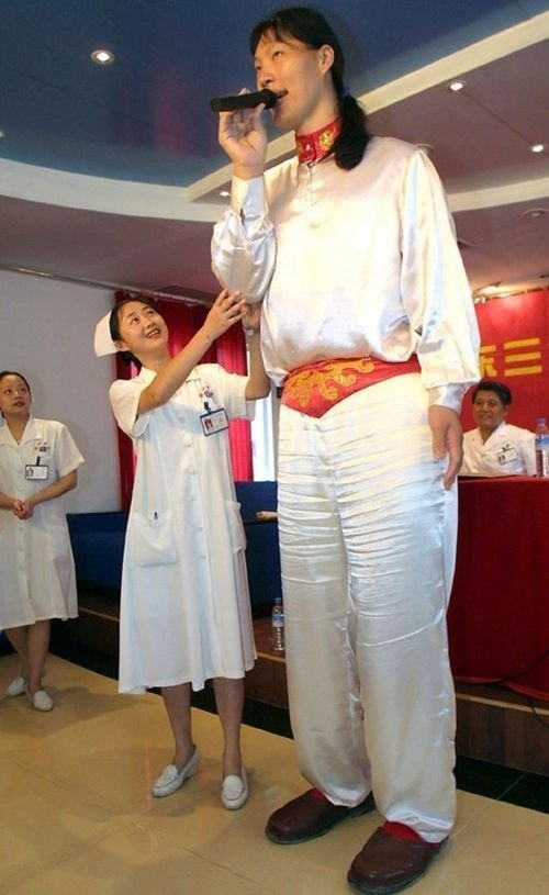 Яо Дефен, Китай, 236 сантиметр в мире, высота, девушки, люди, размер, рост