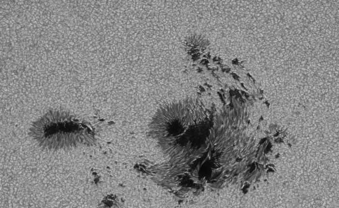 AR2673, активная область на солнце Автор: Хайнань Цзун