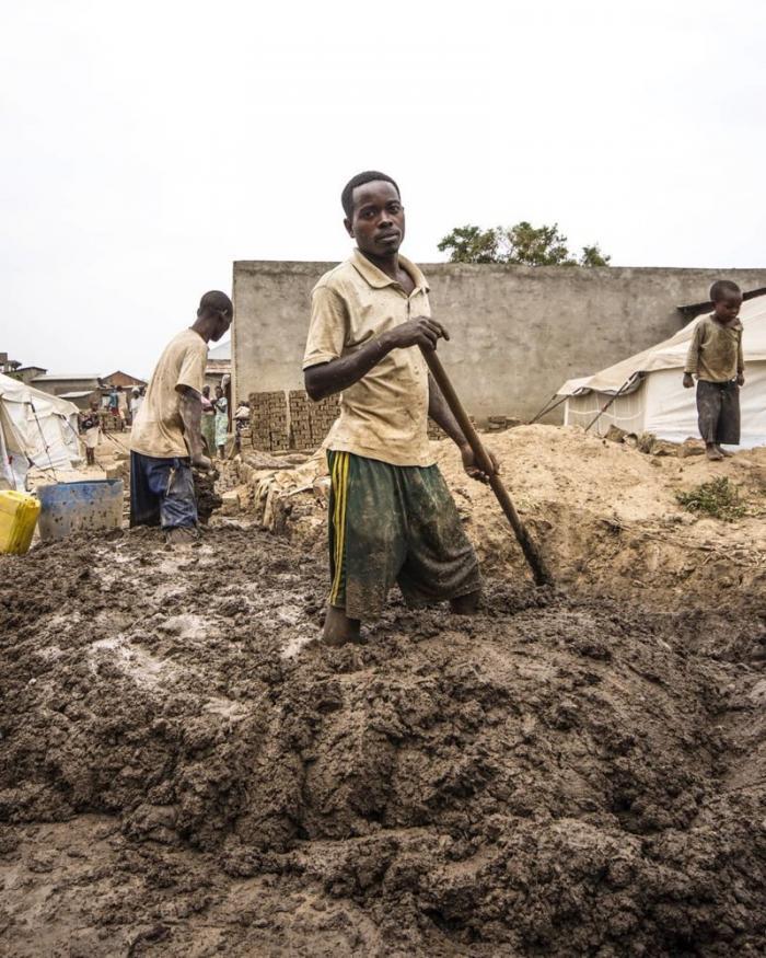 Условия труда Бужумбура, Бурунди, Центральная Африка, африка, бедные страны, города Африки, нищие страны