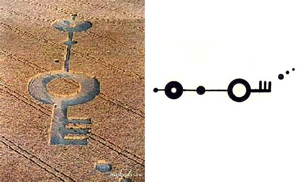 Расшифровка космических знаков на полях, что нам пытаются сказать? (6 фото)