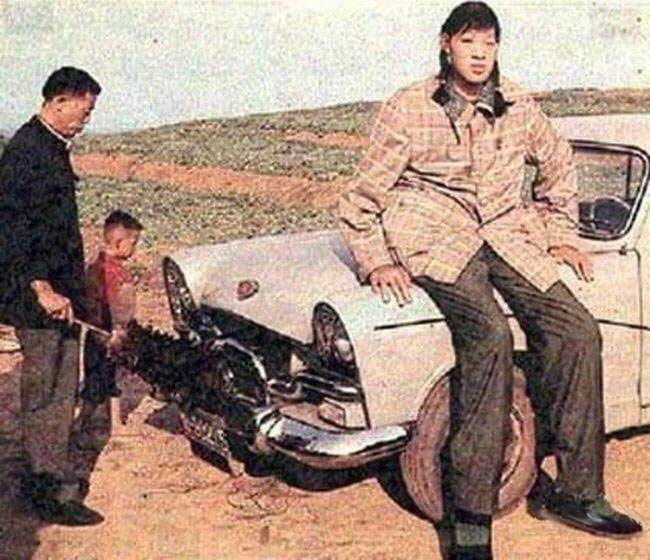 Дзен Жулань, Китай, 248 сантиметров в мире, высота, девушки, люди, размер, рост