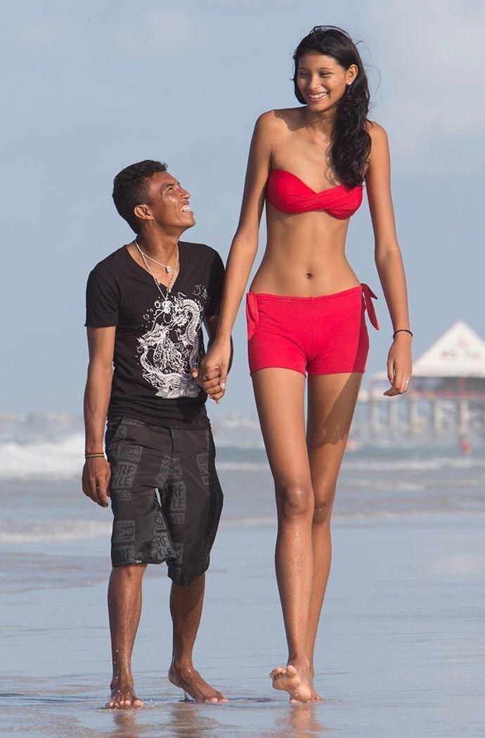 Эльсани да Крус Сильва, Бразилия, 206 сантиметров в мире, высота, девушки, люди, размер, рост