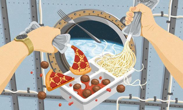 Космическая еда: прошлое, настоящее и будущее (7 фото + видео)