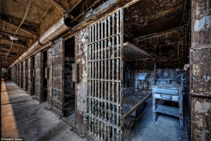 Заброшенная Мэнсфилдская тюрьма