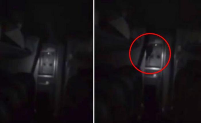 Охранника аэропорта до ужаса напугал черный призрак в салоне самолета (2 фото + видео)