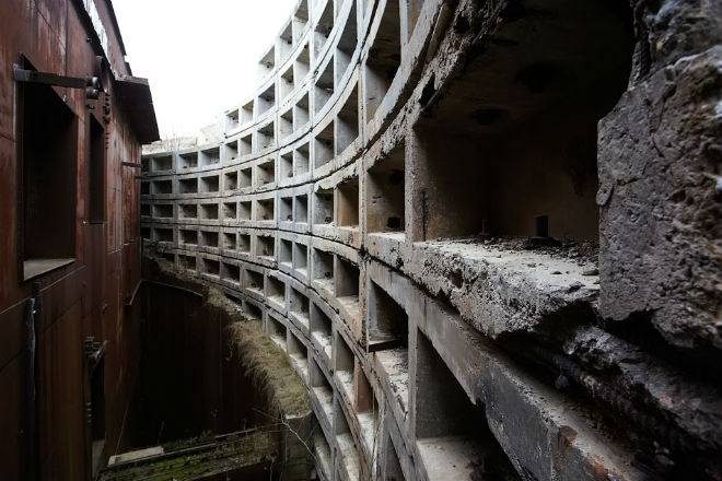 Секретный бункер Горбачева: 9 этажей под землей (3 фото + видео)