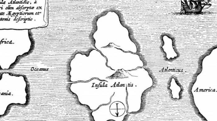 Загадочная история Атлантиды, которая мало кому известна