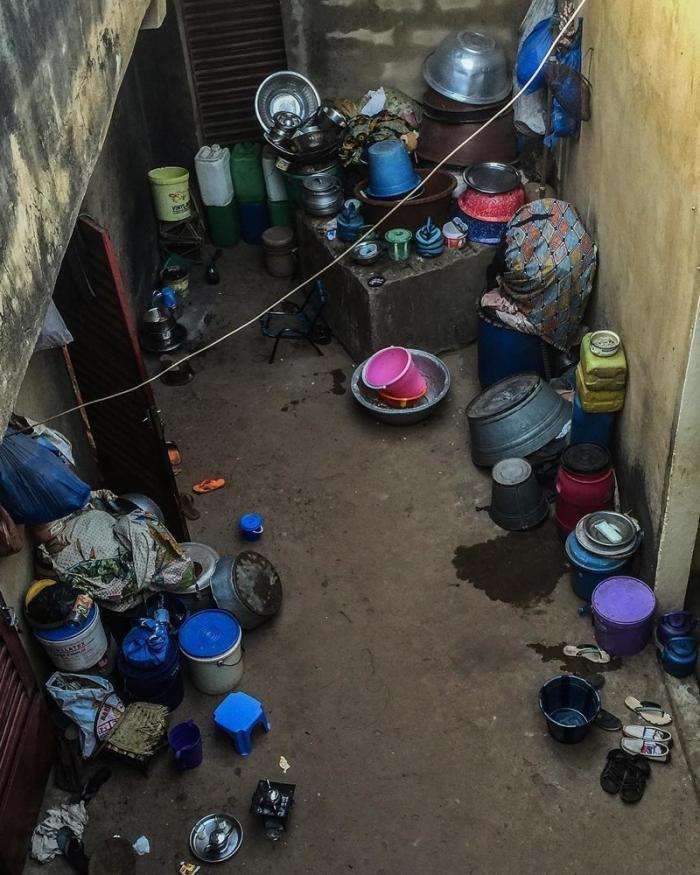 Типичный дворик в Бамако Бамако, Западная Африка, мали, путешествия, столица Мали, столицы Африки, столицы стран мира