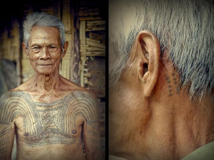 Самая старая татуировка в мире (7 фото)