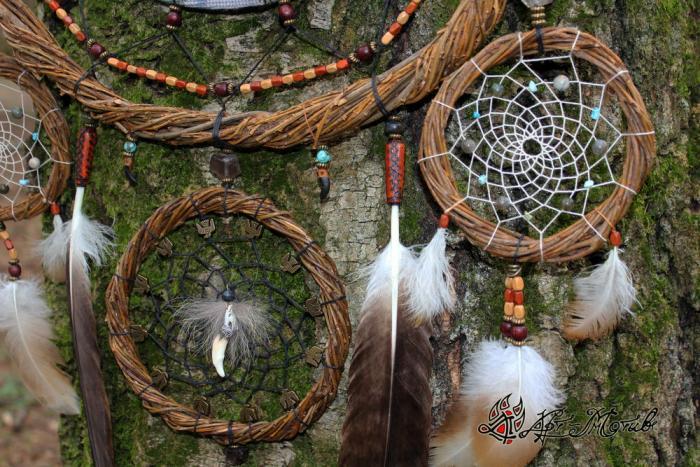 Ловец снов индейский амулет от плохих снов