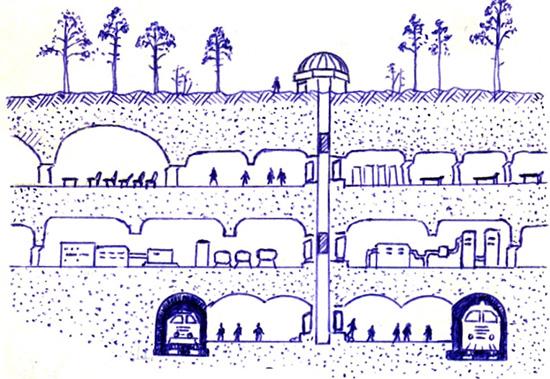 Как живут внеземные цивилизации: жилье, общество (17 фото)