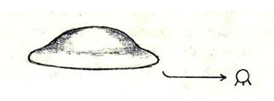 Звездолёт в форме тазика, малые модули шаровидные с опорами