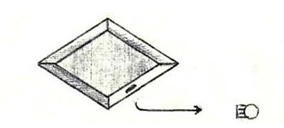 Носитель в форме ромба, малые модули похожи на ромашку. Прилетел из другой галактики