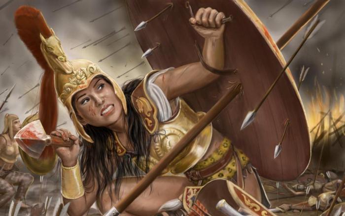 Легенда об амазонках