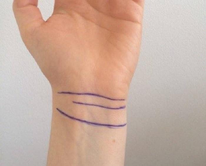 Четвертая линия на запястье: что сулит она счастливому обладателю? (6 фото)