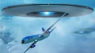 Получасовое преследование авиалайнера: Уфологи обнародовали видео НЛО над Аляской, которое долго не хотели показывать