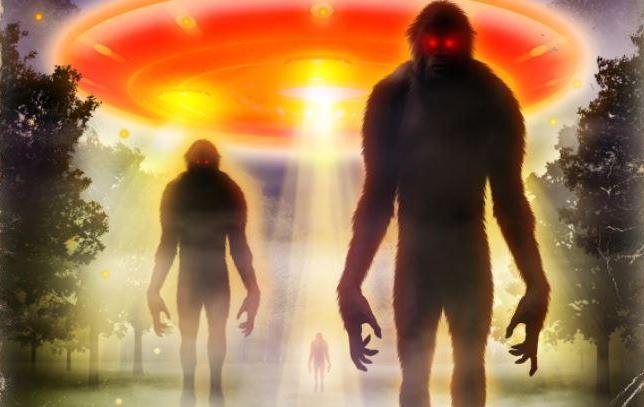 Пугающие воспоминания из детства о похищении волосатым пришельцем (2 фото)