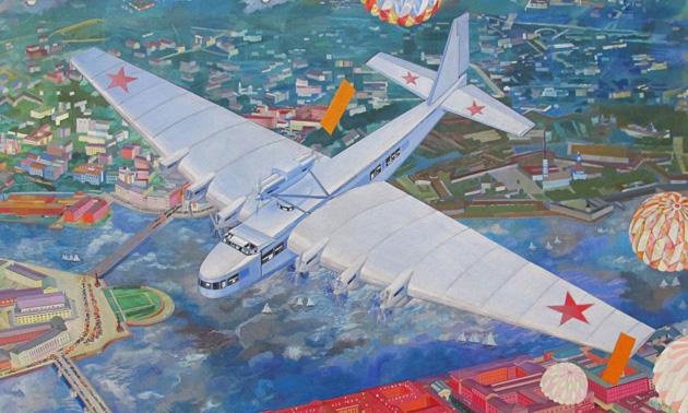 Максим Горький: самый странный самолет СССР (8 фото)