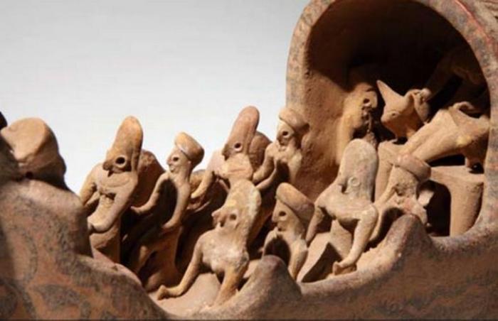 Древний «летающий корабль» неизвестной нам цивилизации (5 фото + видео)