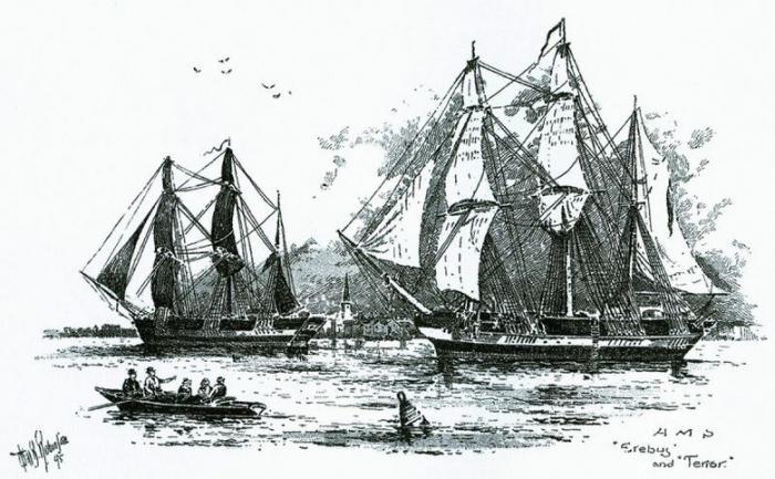 Инуиты говорят, что ученые пробудили проклятие затонувших кораблей Франклина (7 фото)
