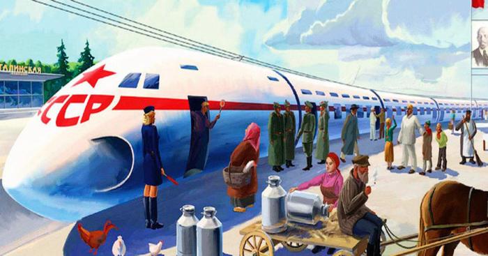 История шаропоезда: как в Советском Союзе чуть было не перевернули представление о железной дороге (6 фото + видео)