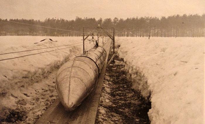 Шаропоезд| Фото: Википедия.