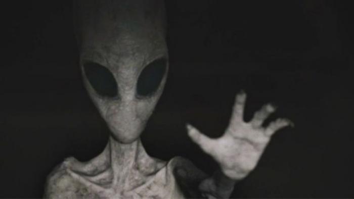 Жительница Джексонвилла встретила агрессивного Серого пришельца прямо в своем доме (2 фото)