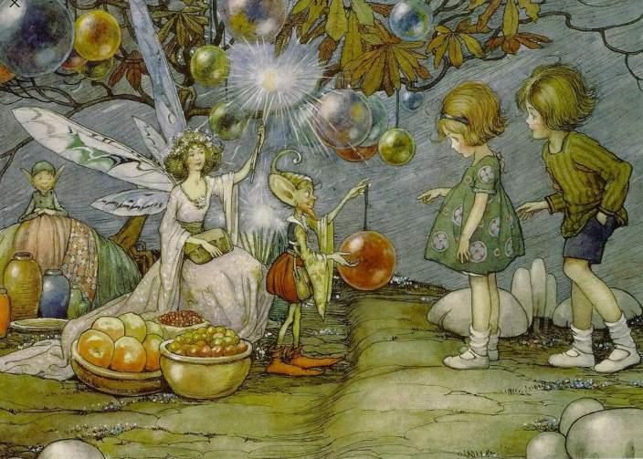 Чудная история с пришельцами и блинами и ее аналоги в сказках о феях (2 фото)