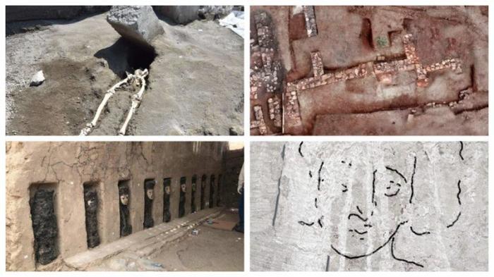 Самые неожиданные и интересные археологические находки 2018 года 2018 год, археология, интересно знать, находки археологов, находки и открытия, познавательно, раскопки, факты