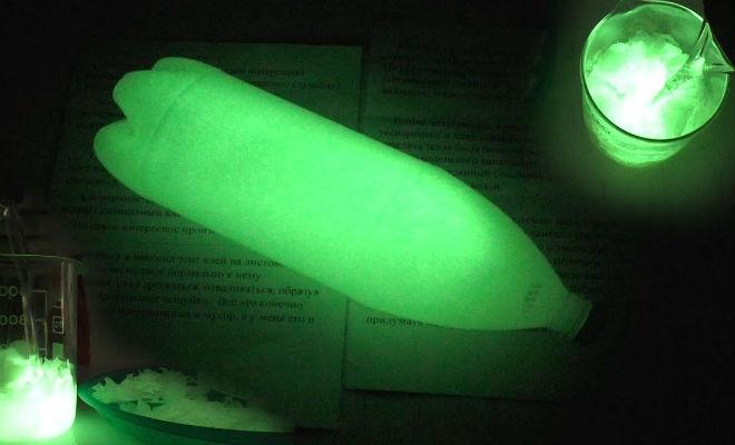 Делаем вечный фонарик из пластиковой бутылки