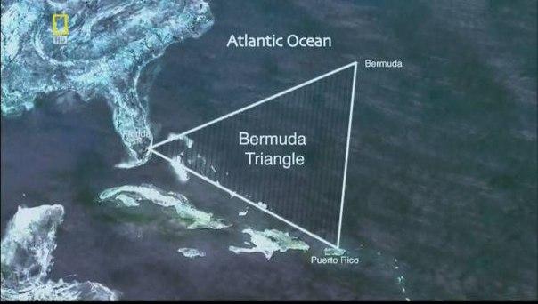 Бермудский треугольник — легенда о «треугольнике»