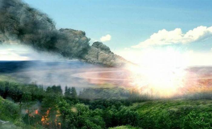 Тунгусский метеорит. Это произошло 111 лет назад (30 июня 1908 года)