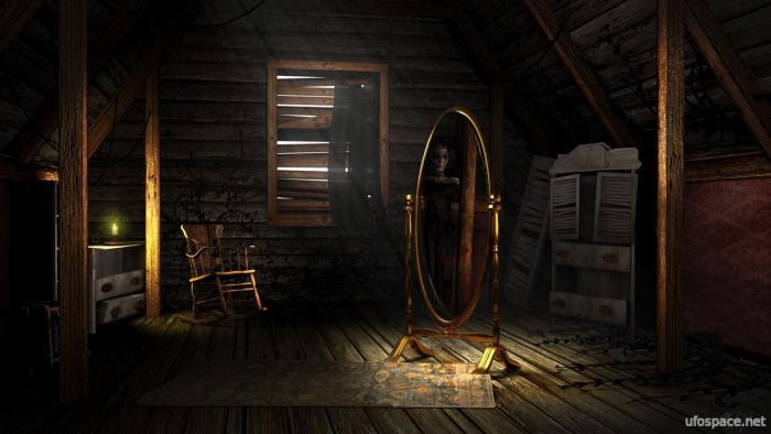 Современные паранормальные случаи с зеркалами (2 фото)