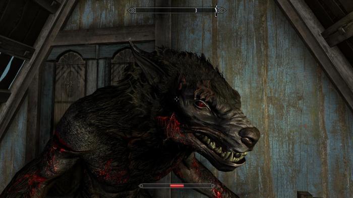 Вервольф из Шалона кровь и мясо