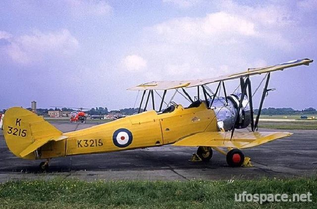 Путешествие во времени пилота Годдарда (3 фото)