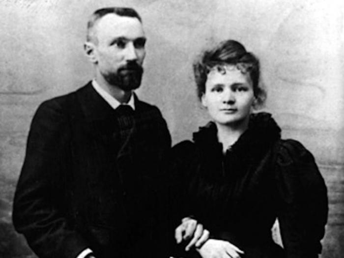 Пьер Кури и Мария Склодовская-Кюри, 1895 год.