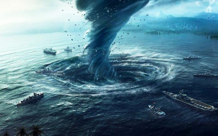 Самые жуткие аномальные зоны мирового океана (6 фото)