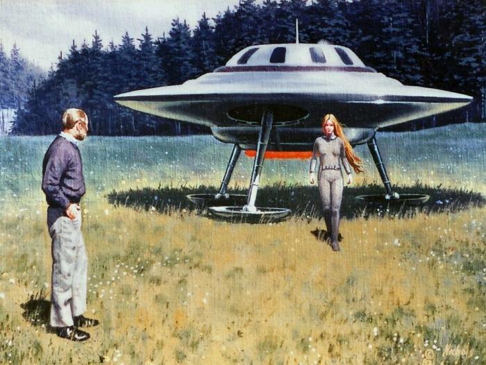 Загадочная история Билли Майера, контактёра с Плеядами (10 фото)