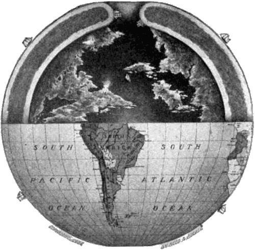 Древние пришельцы: Теория Полой Земли (4 фото)